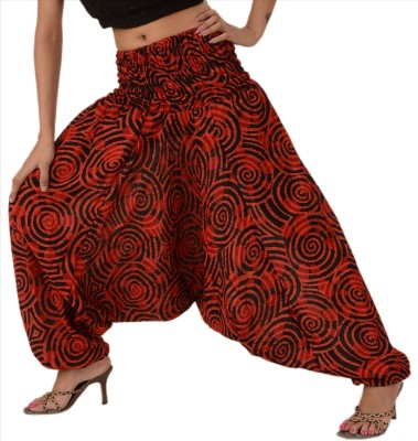 Skirts & Scarves Printed Cotton Womens Harem Pants