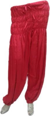 rc Self Design Polyester Women,s Harem Pants