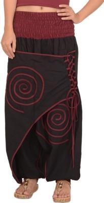 Skirts & Scarves Solid Cotton Women,s Harem Pants
