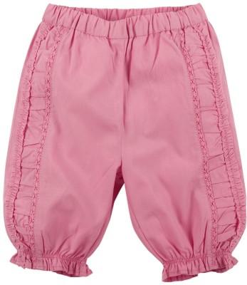 Babyoye Solid Cotton Baby Girl's Harem Pants