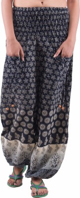 Indi Bargain Printed Cotton Womens Harem Pants