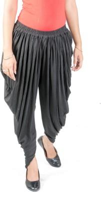 FabPoppy Solid Cotton Women's Harem Pants