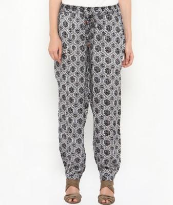 Philigree Printed Viscose Women's Harem Pants