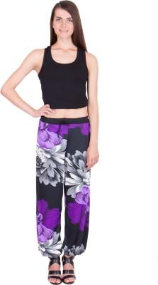 Adonia Floral Print Polyester Women,s Harem Pants