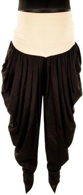 Kriti Ethnic Maternity Solid Cotton Women's Harem Pants