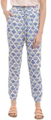 Chumbak Printed Rayon Women's Harem Pants
