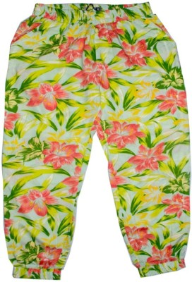 Spring Bunny Printed Viscose Girls Harem Pants