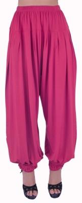 SHYIE Solid Viscose, Lycra Women's Harem Pants