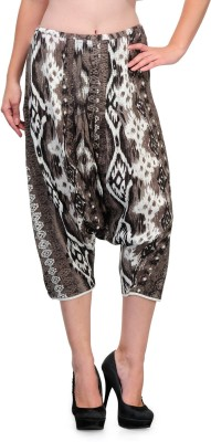 Tops and Tunics Solid Viscose Women's Harem Pants