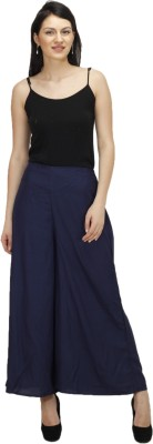 Splendent Solid Rayon Women's Harem Pants
