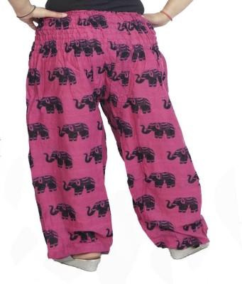 VRI Solid Cotton Women's Harem Pants