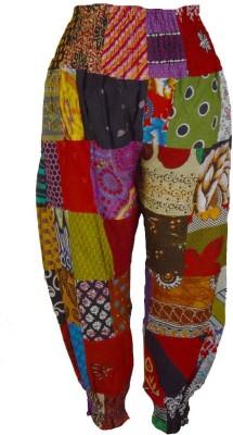 Shopatplaces Self Design Cotton Women's Harem Pants