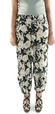 Amohaa Floral Print Cotton Women's Harem Pants