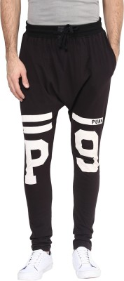 PUNK Printed Cotton Boys Harem Pants