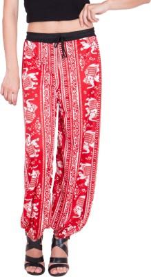 Adonia Printed Polyester Women,s Harem Pants
