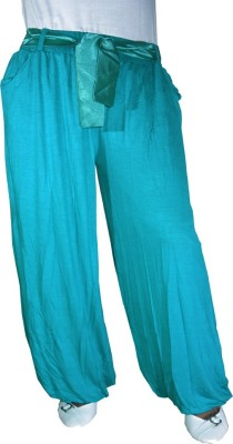 Anjan Solid Cotton Women's Harem Pants