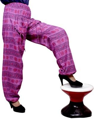 Krishna Mart Striped Cotton Women's Harem Pants