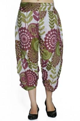 Jaipur Kala Kendra Floral Print Cotton Women's Harem Pants