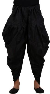 MEN.XS Solid Raw Silk Men's Harem Pants