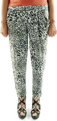 Gwyn Lingerie Animal Print Lycra Women's Harem Pants
