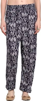 Cottonworld Graphic Print Polyester Women's Harem Pants