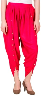 Rdesign Solid Cotton Womens Harem Pants