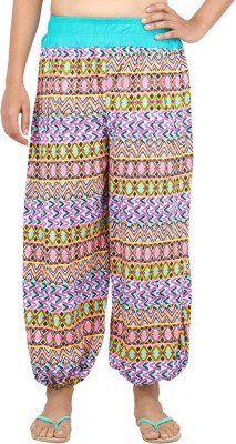 Eimoie Geometric Print Cotton Women's Harem Pants