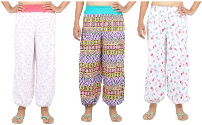 Eimoie Printed Cotton Women's Harem Pants