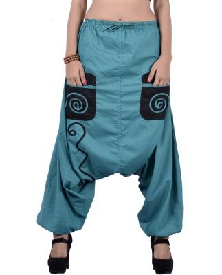 Uttam Enterprises Self Design Cotton Women's Harem Pants
