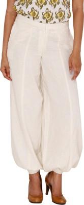 Majori Solid Cotton Women's Harem Pants