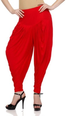 Alay Solid Viscose Women's Harem Pants