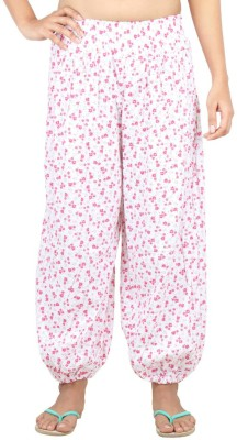 Eimoie Floral Print Cotton Women's Harem Pants