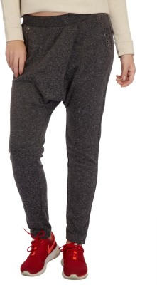 Meish Solid Polyester Women's Harem Pants