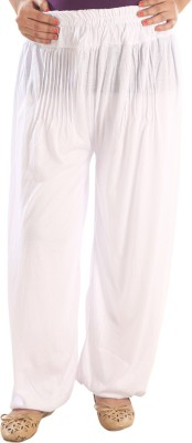 Awesome Solid Viscose, Lycra Women's Harem Pants