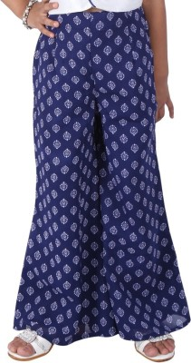 BownBee Printed Pure Georgette Girl's Harem Pants