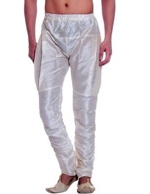 Tag 7 Solid Dupion Silk Men's Harem Pants