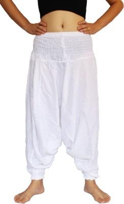 Anvigroup Solid Cotton Women's Harem Pants