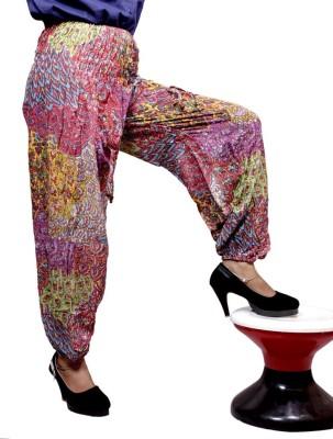 Krishna Mart Printed Poly Cotton Women's Harem Pants