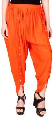 Rdesign Solid Cotton Womens Harem Pants