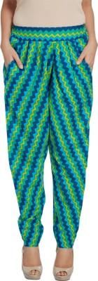 Enah Graphic Print Cotton Women's Harem Pants