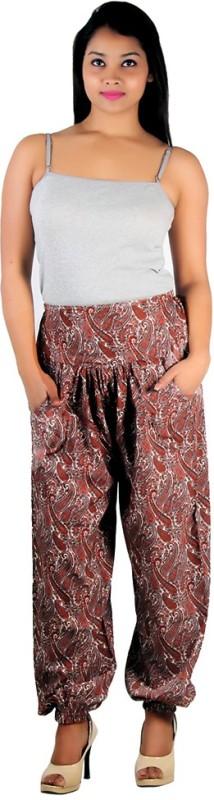 Ankita Printed Polyester Women's Harem Pants