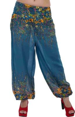Indi Bargain Floral Print Viscose Womens Harem Pants