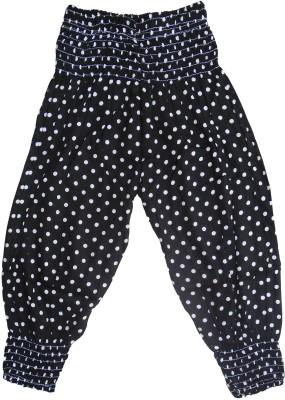 Sweet Angel Polka Print Cotton Girls Harem Pants