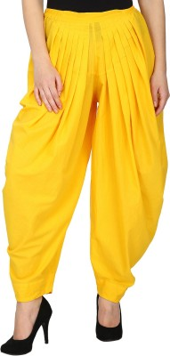 Ethnic Solid Cotton Women's Harem Pants