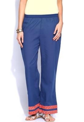 Anouk Solid Cotton Women's Harem Pants
