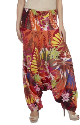 True Fashion Floral Print Cotton Women's Harem Pants