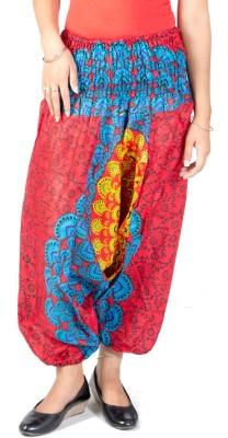 FabPoppy Printed Cotton Women's Harem Pants