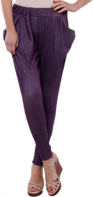 FEMMORA Solid Cotton Women's Harem Pants