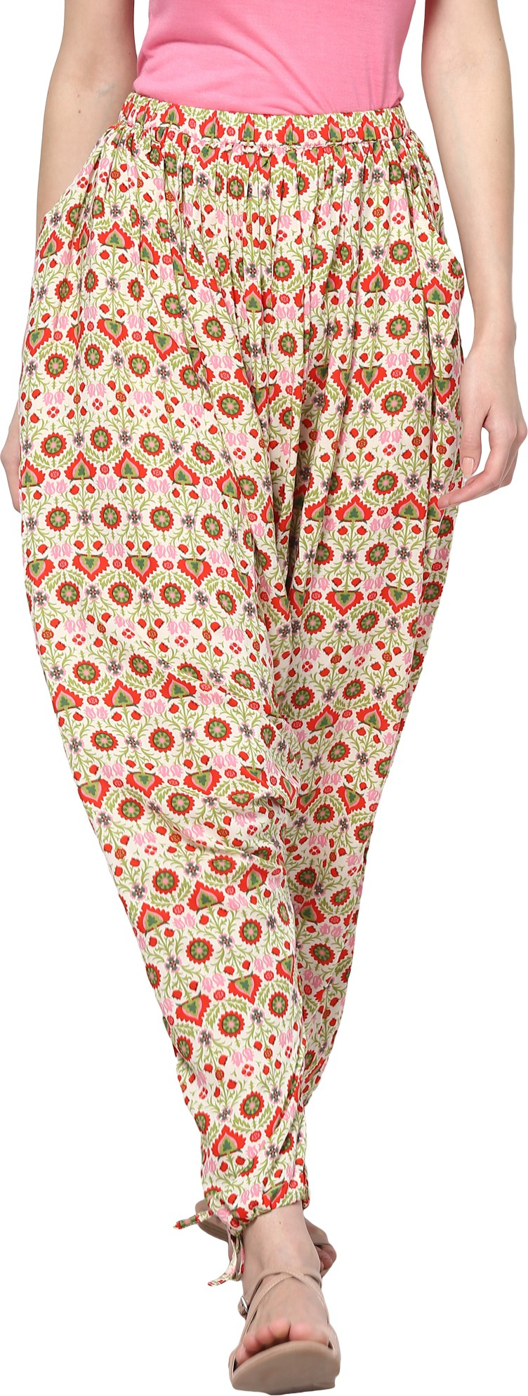 Trend18 Printed Cotton Womens Harem Pants