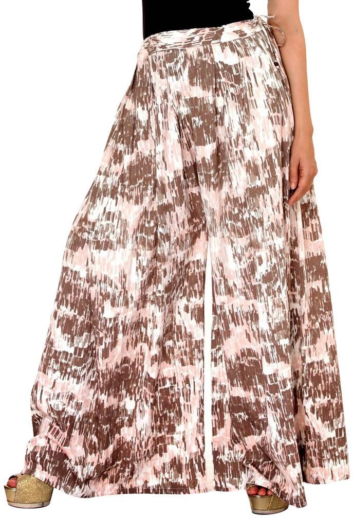 Damsel Printed Pure Crepe Womens Harem Pants